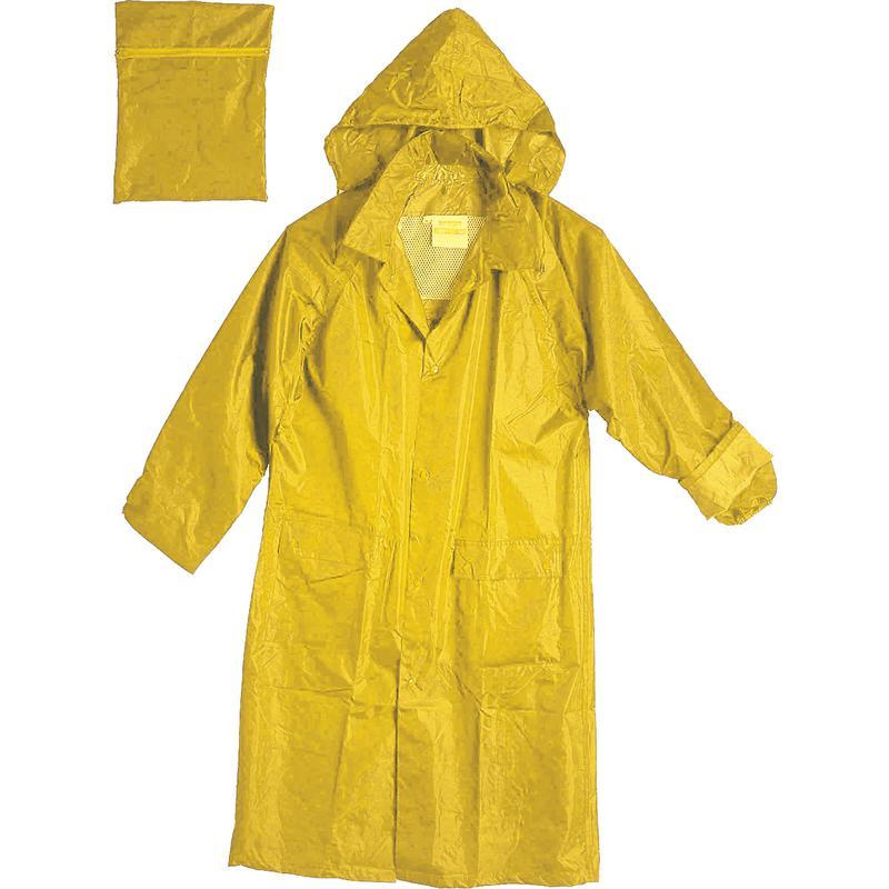 Cappotto impermeabile giallo csp s r l